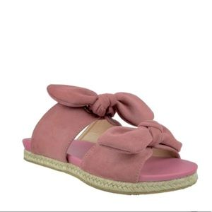 Chase & Chloe Angelica Suede Espadrille